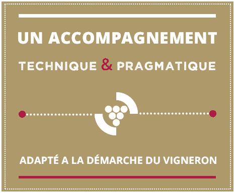 Slide 2 / Un accompagnement technique et pragmatique adapté à la démarche du vigneron